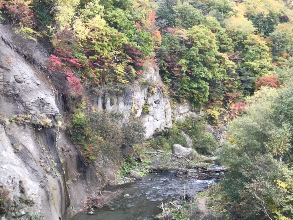 恵庭渓谷 画像